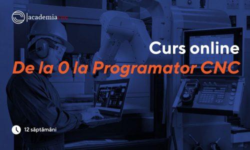 """De la """"zero"""" la programator CNC"""
